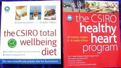 CSIRO HEALTHY HEART PROGRAM + TOTAL WELLBEING DIET  Manny Noakes & Peter Clifton
