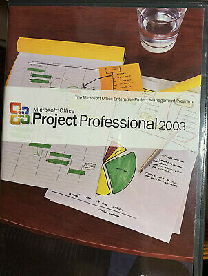 MICROSOFT PROJECT 2003 PROFESSIONAL Full Version used (Ready to activate)