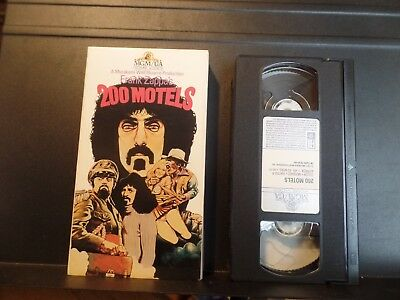 200 Motels VHS Frank Zappa Ringo Starr The Mothers of Invention