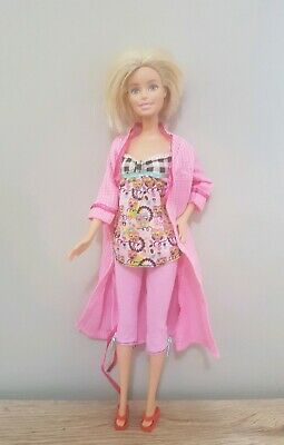 New Barbie clothes complete outfit pajamas fashion jammies owl robe shoes