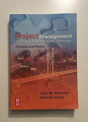 Project Management For Business Engineering And Technology Third Edition