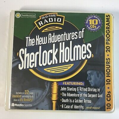 Old Time Radio The New Adventures Of Sherlock Holmes Audiobook 10 Cd