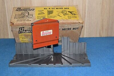 Stanley H114  Handyman Mitre Box Woodworking Old Tools