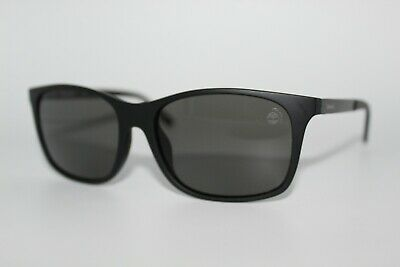 2945bfe9635 New Timberland Tb 9095 02D Black Polarized Sunglasses Men's Frame 56Mm  Tb9095