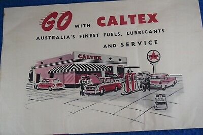 Vintage Caltex RACV Map Of Victoria Old Tools