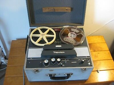 Vintage Pyrox Magictape Reel To Reel Tape Recorder 1950s Made Australia - V RARE