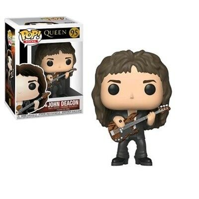 QUEEN John Deacon Funko Pop Vinyl New in Box - In Hand