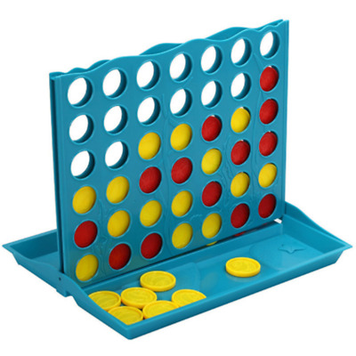 Large Connect Four In A Row 4 In A Line Board Game Two-Player Educational Toy