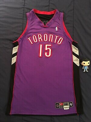 online store c4025 53a7d NBA JERSEY GAME Issued Vince Carter Jersey Toronto Raptors Game Worn Nike  Rare