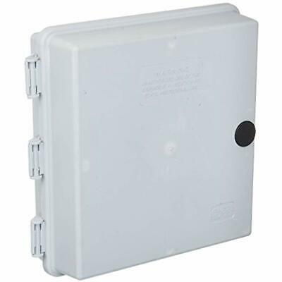 "9/&quotx9/&quotx3/"" OUTDOOR CABLETEK ENCLOSURE PLASTIC GRAY CASE UTILITY BOX"