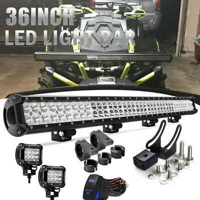 "36inch LED Light Bar FLOOD SPOT Combo Offroad  Truck Boat 4WD 34"" 30"""