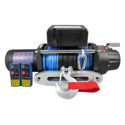 ELECTRIC WINCH 24V RECOVERY 4x4 17000 lb WINCHMAX BRAND COMMERCIAL