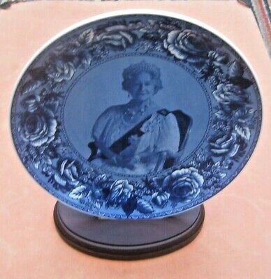 The Queen Mother Tribute Plate 1900-2002. Quality Wedgwood For Compton Woodhouse