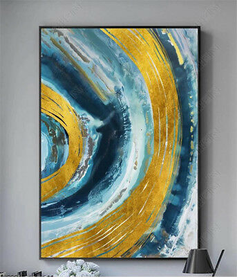VV621 Modern Hand-painted abstract oil painting Color art No Frame 24x36in