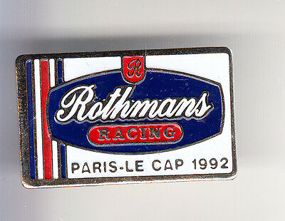 Rare Pins Pin's .. Tabac Tobaccos Cigarette Rothmans France Rallye Le Cap 92 ~Bv