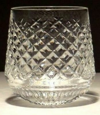 1 Vintage Waterford Alana Roly Poly Old Fashioned Tumbler Glass ~ Ireland