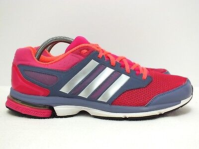 3d623c784 ADIDAS SUPERNOVA SOLUTION 3 Women s Running Shoes Pink Gray Size 9.5 ...