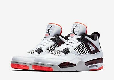 212f3ba9c54422 NIKE AIR JORDAN 4 IV FLIGHT NOSTALGIA Retro Hot Lava Pale Citron 308497-116  SZ