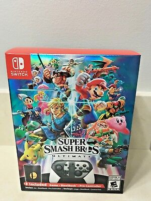 Super Smash Bros. Ultimate Special Edition Nintendo Switch (Brand New & Sealed)