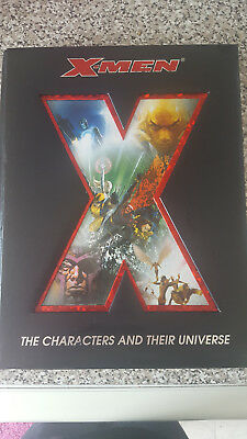 X-Men The Characters And Their Universe Hardcover Book 2006 First Edition