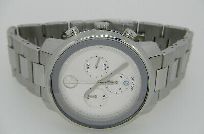 3c03aa798 MOVADO BOLD CHRONOGRAPH Stainless Steel Mens Watch 3600276 $895.00 ...