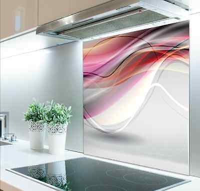 70cm x 75cm Digital Print Glass Splashback Heat Resistant  Toughened 571