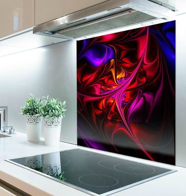 60cm x 75cm Digital Print Glass Splashback Heat Resistant Toughened 113086144