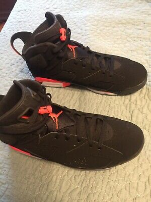 competitive price 130c3 21103 Nike Air Jordan Retro 6 VI Infrared Black OG 2019 Size 13 Great Condition