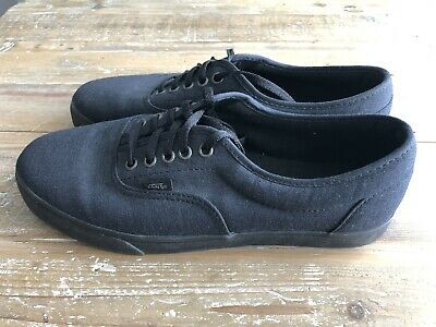 c555253e77 VANS ERA MONO Chambray All Black Black Mens Size 9.5 Skate Shoes Low ...