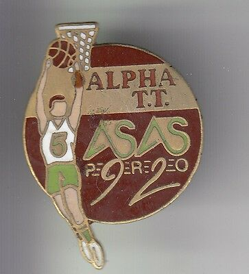 Rare Pins Pin's .. Sport Basket Ball Club Team Alpha Tt Asas Sceaux 92 ~C7