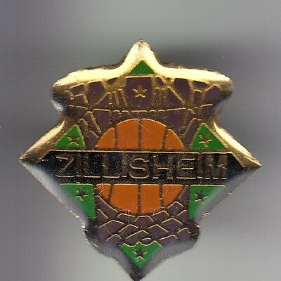 Rare Pins Pin's .. Sport Basket Ball Alsace Club Team Zillisheim 68 ~C7
