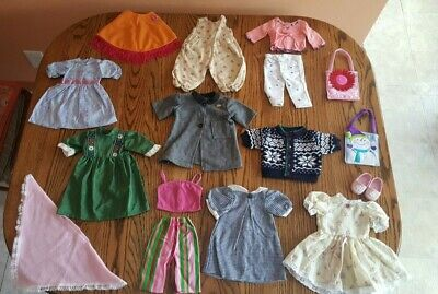 """18"""" Doll Clothes & Accessories - Lot of 16 pieces - SUPER LOW PRICE !!!"""