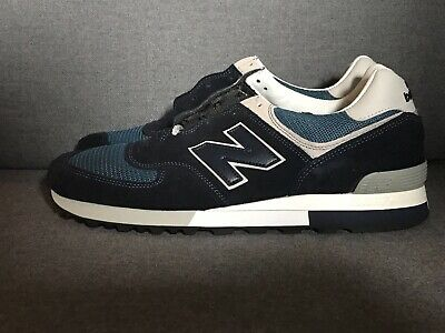 low priced 02d46 85414 [OM576OGN] MENS NEW Balance OM576 - Made in England UK Navy Grey 576 Shoes  Sz 11