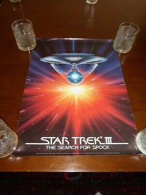 Star Trek The Motion Picture Art III The Search for Spock Poster 16x22 rolled