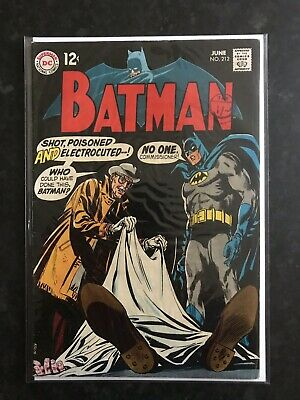 Batman #212 DC Comics