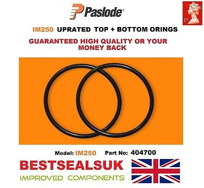 Paslode Im250 Top And Bottom UPRATED O Rings  404700 not Genuine