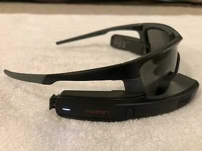 Recon Jet Smart Eyewear Sunglasses Black, lightly used