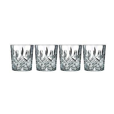 Drinking Glasses Clear Crystal For Vodka Whisky Scotch Wine Shot Glassware 4 Set