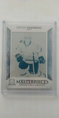 2017/18 The Cup Johnny Gaudreau Printing Plate 1/1 Calgary Flames
