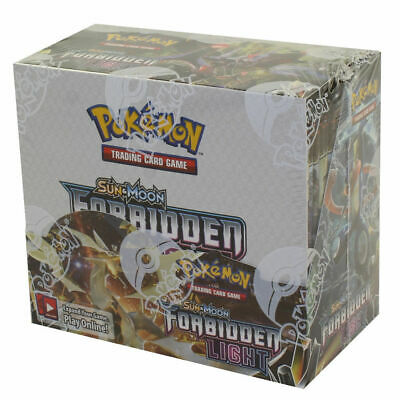 Pokemon Sun & Moon Forbidden Light Booster Box Factory Sealed! FREE US Shipping