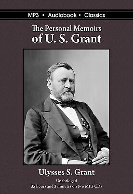 The Personal Memoirs of U.S. Grant - Unabridged MP3 CD Audiobook in DVD case