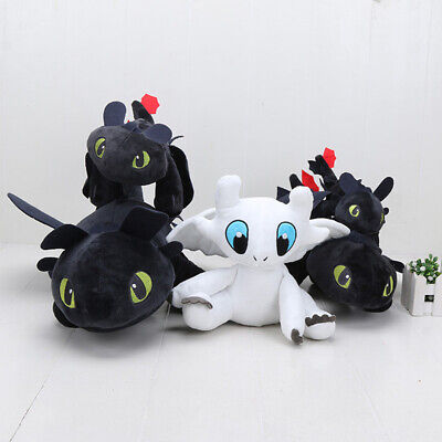 How To Train Your Dragon Toothless Night Fury Animal Doll Stuffed Plush Toy Gift