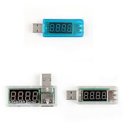 USB Charge Power Current Voltage Meter Testeur Power Detector Portable 3Type