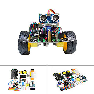 Smart Car UNO R3 Vehicle Obstacle Avoidance Tracking Robot Apprendre Pour Arduin