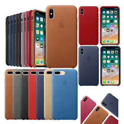 Original Cover OEM Leather Phone Case For Apple iPhone 6 6s 7 8 Plus X XS Max XR
