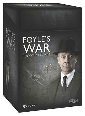 FOYLE'S WAR: THE COMPLETE SAGA (DVD, 2015, 29-Disc Set) BRAND NEW FACTORY SEALED