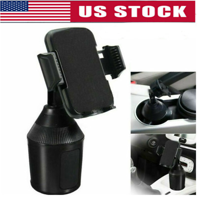 Universal Phones Cup Holder Car Mount Holder Adjustable for iPhones Cell Phones
