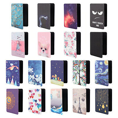 """For Kindle Paperwhite 1/2/3 & 2018 6"""" 10th Gen Pattern Smart Folio Cover Case"""