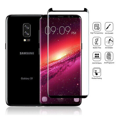 Samsung Galaxy S8 S8 Plus S9 S9 Plus Note 8/9 5D Tempered Glass Screen Protector