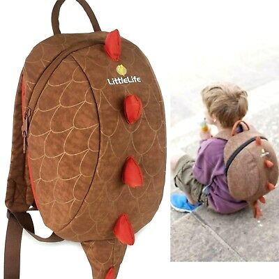 Little Life Animal Kids Backpack Dinosaur bag boy brown animal school toddler